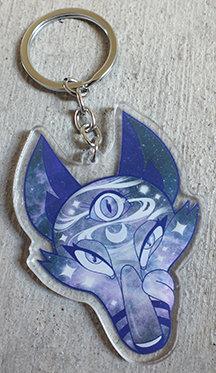 Mystic Fox Keychain