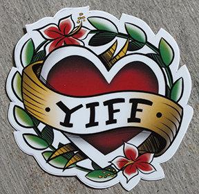 Yiff Tattoo Sticker