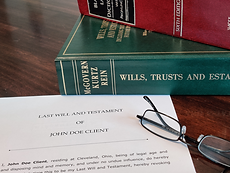 second law books and last will and testament