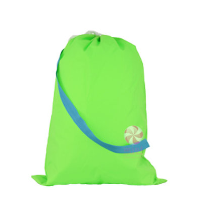 Lime Aqua Hold All Laundry Bag by Mint