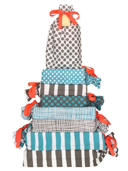 Canvas Gift Bags 8 pack