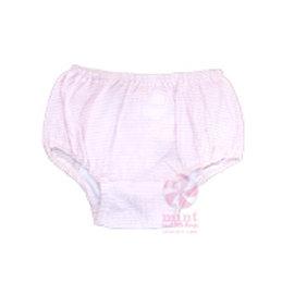 Pink Seersucker Bloomers 6-12M by Mint