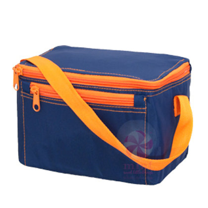 Navy Orange Lunch Bag by Mint