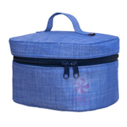 Navy Chambray Train Case by Mint