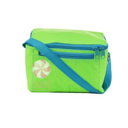 Lime Aqua Lunch Bag by Mint