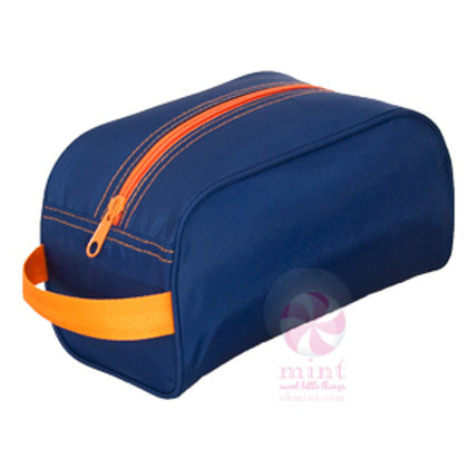 Navy Orange Traveler Case by Mint