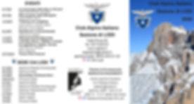 Volantino escursioni CAI LODI 2020 20200