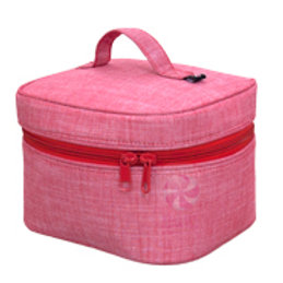 Red Chambray Train Case by Mint