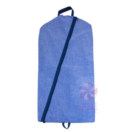 Navy Chambray Garment  Bag by Mint