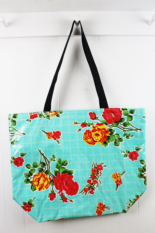Oilcloth Large Tote -  Rosegal