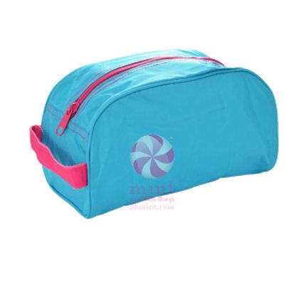 Aqua Hot Pink Traveler Case by Mint