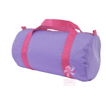 Lilac Hot Pink Duffel by Mint