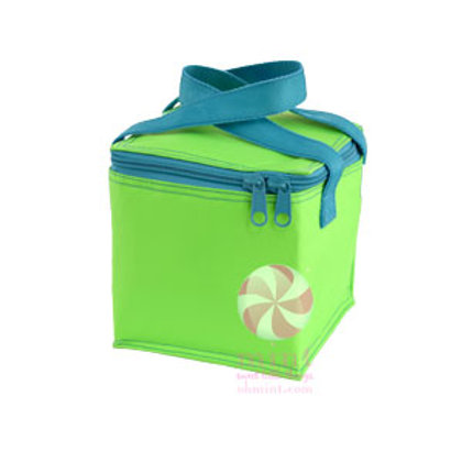 Lime Aqua Snack Square by Mint