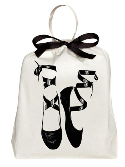 Canvas Ballet Bag