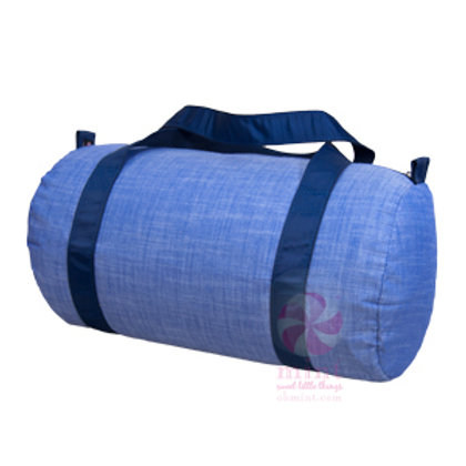 Navy Chambray Duffel by Mint