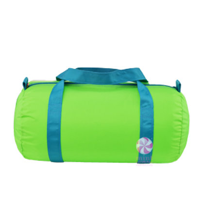 Lime Aqua Duffel by Mint