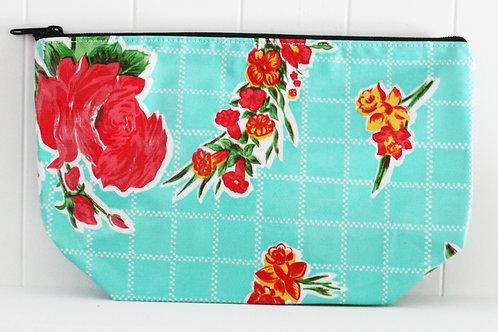 Zipper Cosmetic Bag - Large -Rosegal