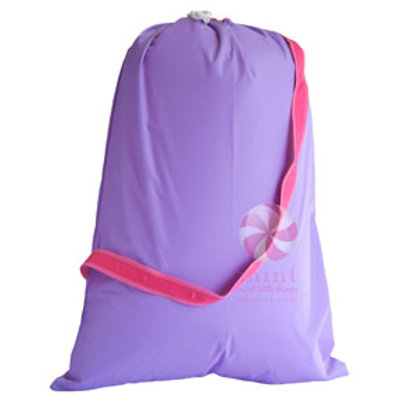Lilac Hot Pink Hold All Laundry Bag by Mint
