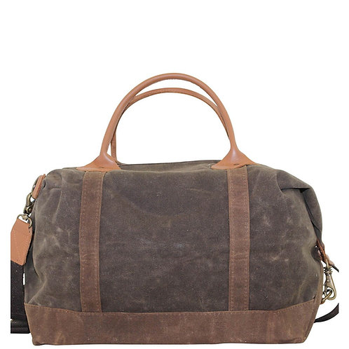 Waxed Canvas Weekender by CB Station