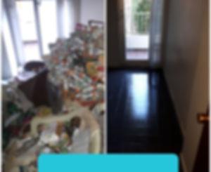 nettoyage d'un apartement insalubre sur Marseille