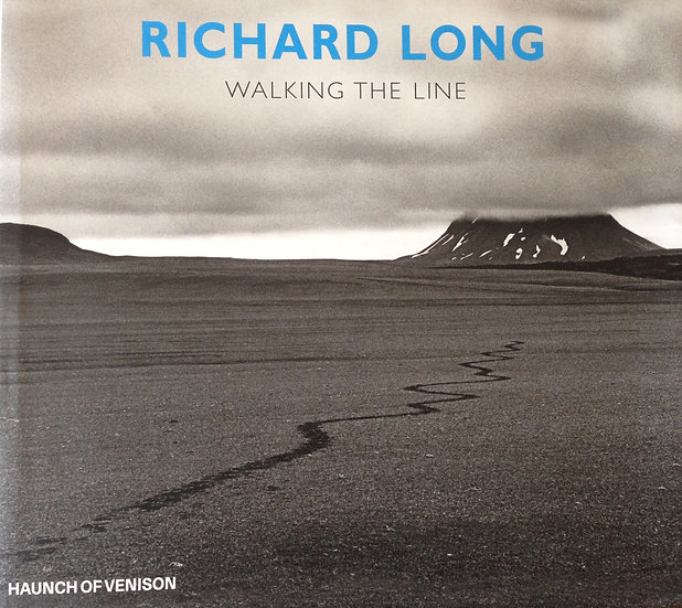 Walking the Line by Richard Long