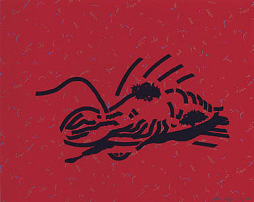 Dressed Lobster by Patrick Caulfield