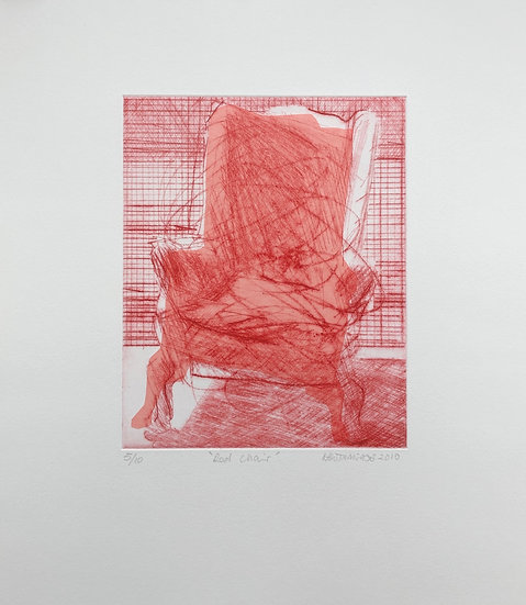 Red Chair 5/10 by Nick Bodimeade