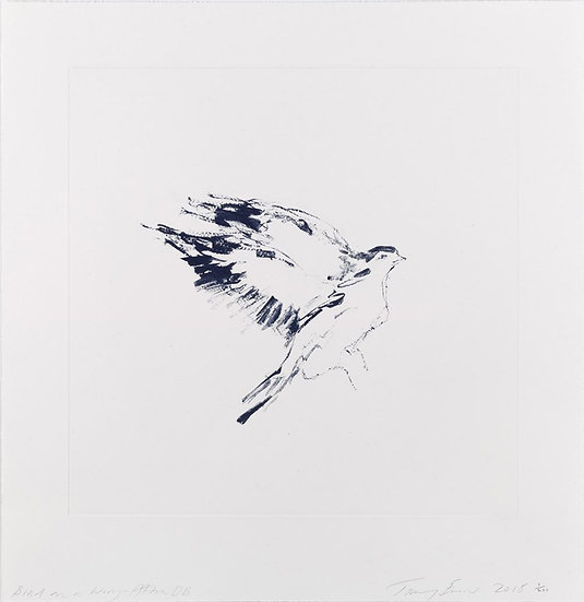 Bird on a Wing After DB by Tracey Emin