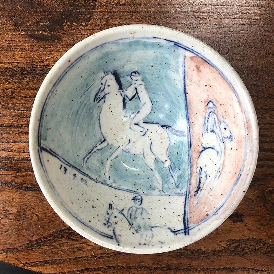 Jockey bowl (2003) by Eric James Mellon