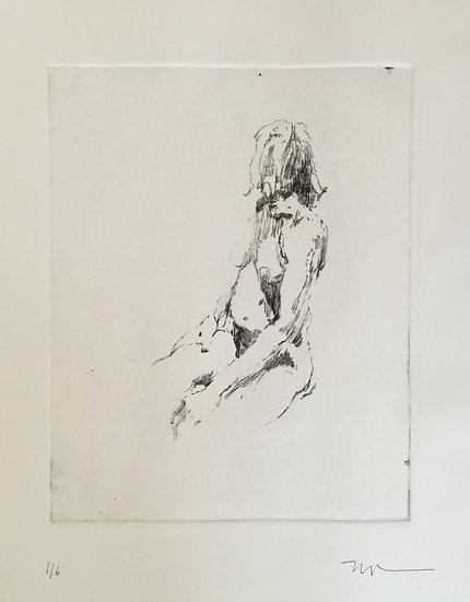 Nude Study I by Phil Tyler