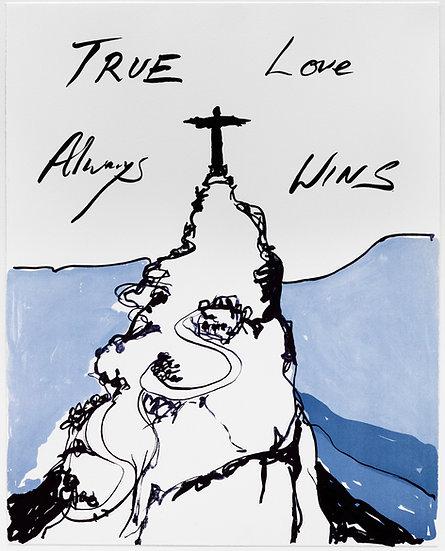 True Love Always Wins by Tracey Emin