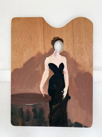 Madame X, after John Singer Sargent