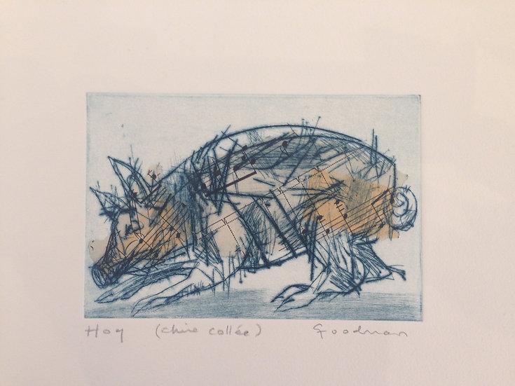 Hog - Variation by Gary Goodman