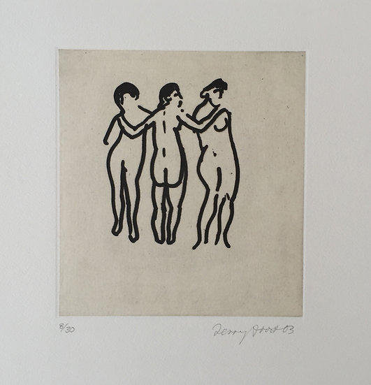 Three Graces by Terry Frost