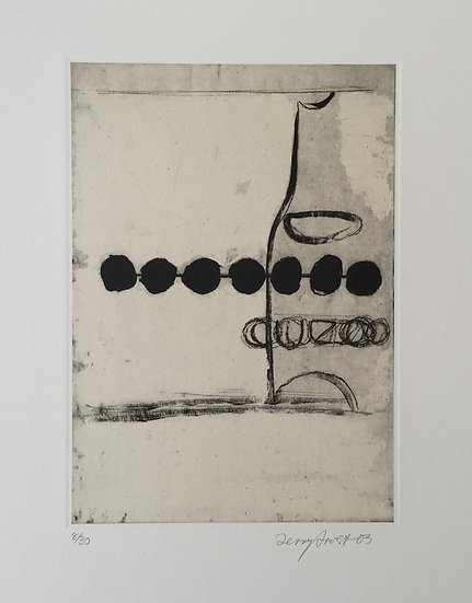 Ouzo and Black Olives by Terry Frost