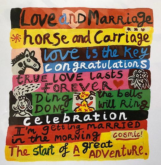 True Love Lasts Forever Card by Jo Lamb