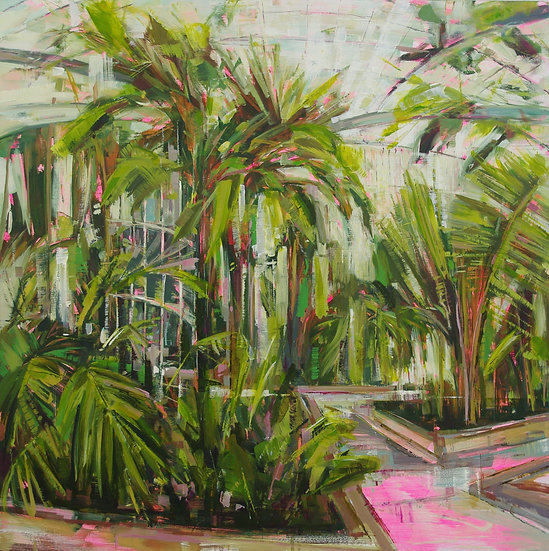 Coconut Palm (Kew Gardens) by Katharine Le Hardy
