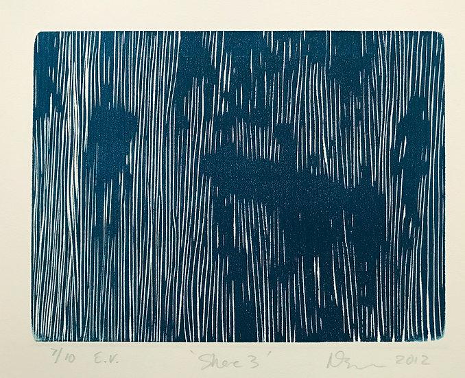 Shore III - Blue by Nick Bodimeade