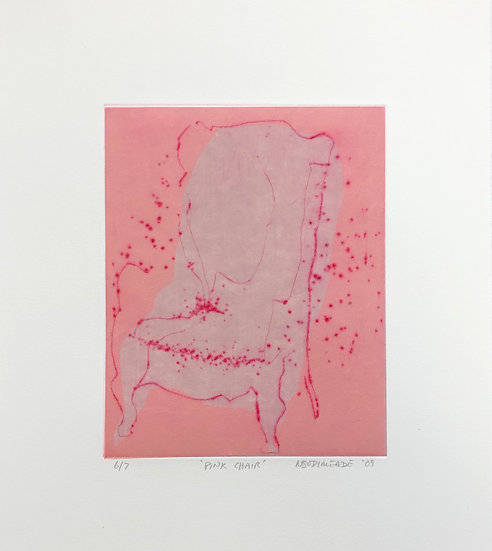 Pink Chair by Nick Bodimeade