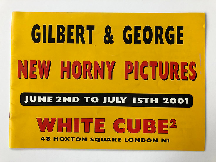 New Horny Pictures by Gilbert and George
