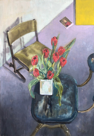 Evertaut 1930's Chair & Flowers IV