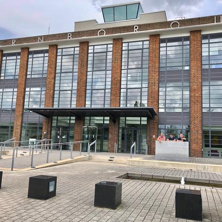 Pop-Up Exhibition at Farnborough Business Park