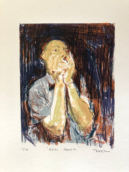 After Munch by Phil Tyler