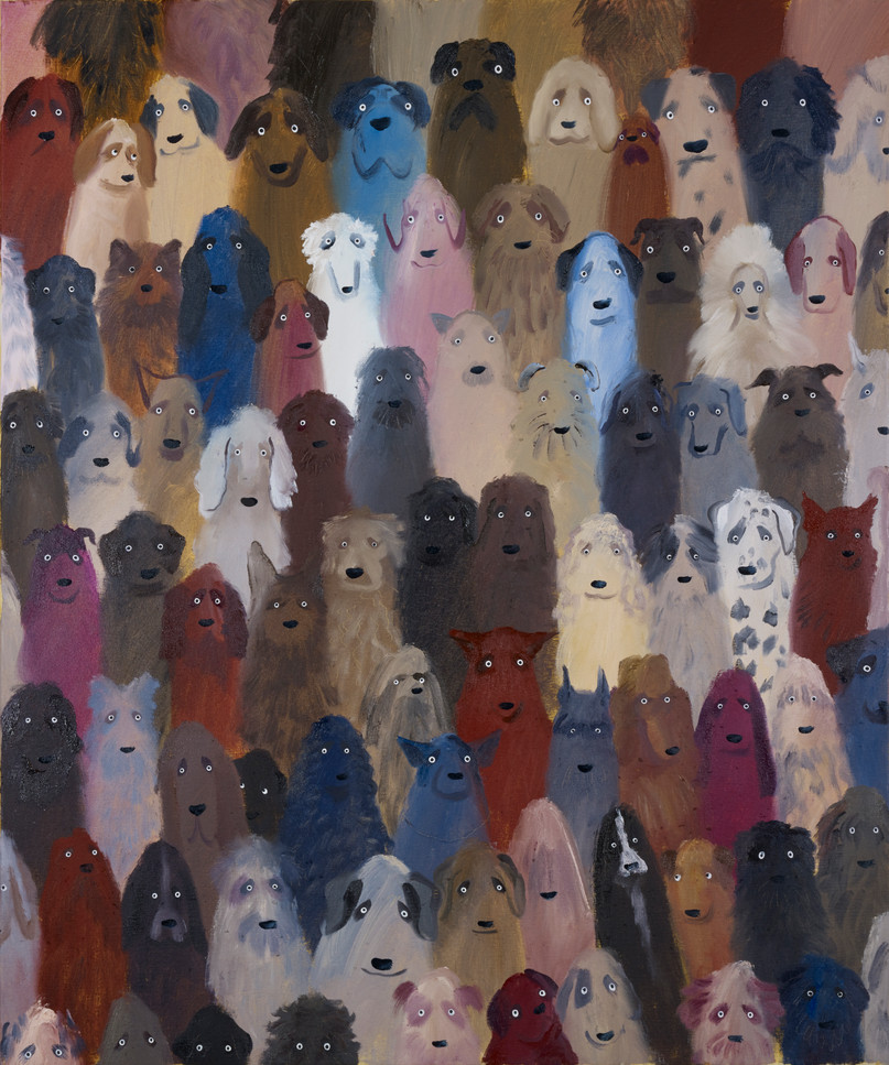 A Crowd of Dogs