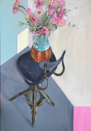 Evertaut 1930's Chair & Flowers II