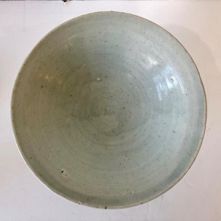 Celedon Pedestal Bowl or Tazza by Bernard Leach