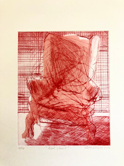 Red Chair by Nick Bodimeade