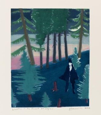 Walter in the Forest by Tom Hammick