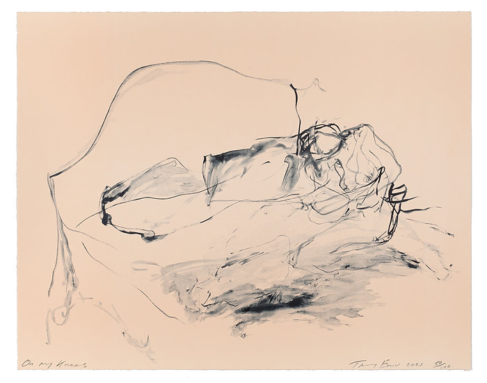 On My Knees by Tracey Emin (2021)