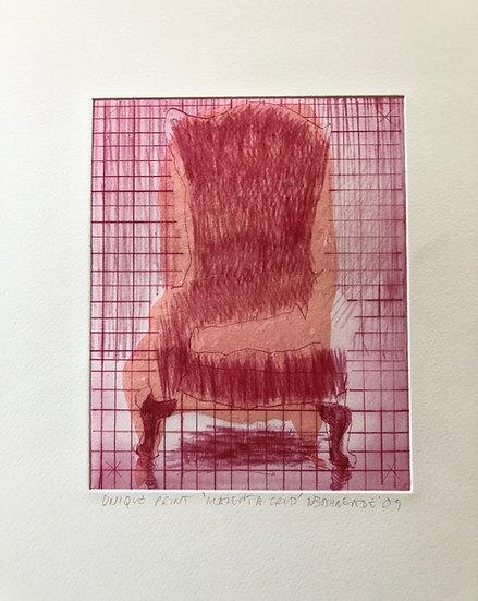 Magenta Chair EV by Nick Bodimeade
